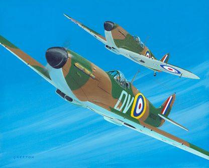 Spitfires limited edition print