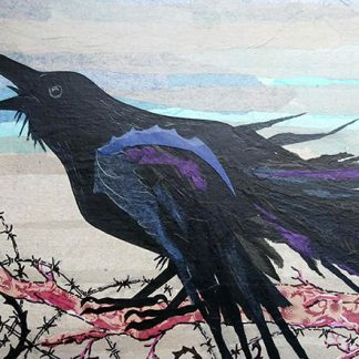 The witch crow limited edition print